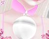 d. ball choker pink