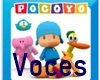 POCOYO voces