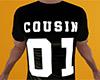Cousin 01 Shirt Black M