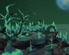 Green Alien Planet