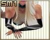SM1 Latex Gloves silv fl