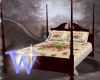 *W* Victorian Poster Bed