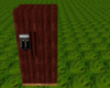 wood fridge