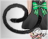 *S Christmas Cat Tail