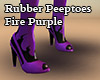Peeptoes Fire Purple