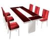 Lavish Red dining