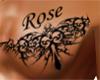 BBJ tribal art Rose Left