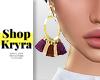 #K. Tessel Earrings