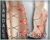 [Is] Flora High Sandals