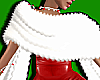 White Fluffy Shawl