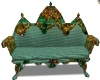 Emerald lace Couch