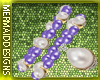 Pearl Lavender Bracelet