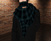 Teal Winter Scarf [M]