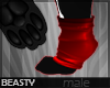 ✘Sock Paws | Red