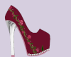 cranberry rose heels