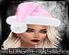 S- PINK CHRISTMAS HAT X