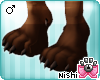 [Nish] Fox Paws Feet M