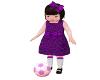 Toddler Girl Purple
