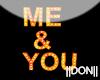 Me & You Orange Lamps