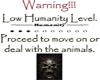 Humanity limit