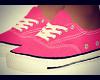 Female Pink Converse