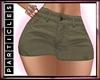 P! Olive Cargo Skirt
