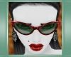 Bakelite Sunglasses-Red