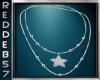 Silver Bead Star Neck