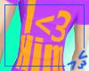 I <3 Him Male Shirt