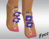 Purple Jewel Feet