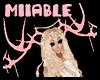 !Miiable! Pink Antlers*