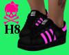 !H8 Pink&Blk