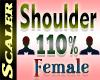 Shoulder Resizer 110%