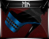 !Mk! Bat Boots Blue Thin