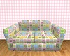 Baby Blue/Pink Pose Sofa