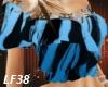Top Lace Trim Blue Blk 5