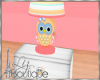 BABY OWL NIGHTLAMP TABLE