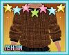 ! KID Brown Fall Sweater