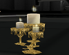 Gold Candle Antique