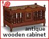 !@ Antique wooden chest