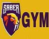 Sabers Gym Sign