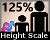 Scaler Height 125% F A