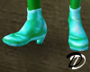 Iridescent shoe (sea)