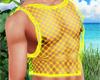 Yellow Layer Net Top V2