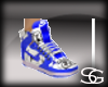 G1~blue & white jordans