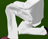Formal Pants White