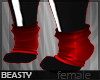 ✘Sock Paws | Red [NB]