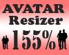 Avatar Scaler 155% / F