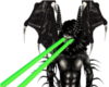 animated eye green laser