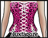 Pink Leoppard Corset